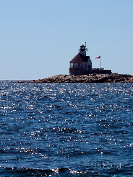 the Cuckolds lighthouse