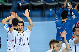 Josip VALČIĆ of PPD Zagreb during the Final Tournament - Final Four - SEHA - Gazprom league, third place match, Varazdin, Cro...