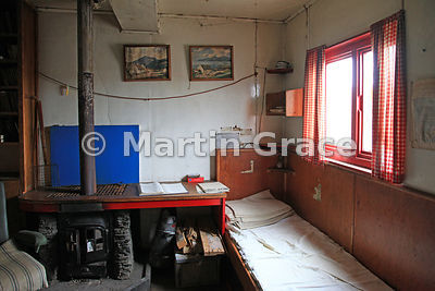 Bunk room in British Antarctic Survey Base Y (1955-60, 1969), Horeshoe Island, Marguerite Bay, West Graham Land, Antarctic Pe...