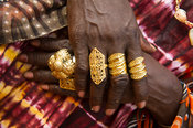 Gold jewellery, Banjul, the Gambia