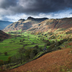 Cloud & Light, Langdale Pikes