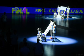 during the Final Tournament - Semi final match - PPD Zagreb vs Celje Pivovarna Lasko - Final Four - SEHA - Gazprom league, S...