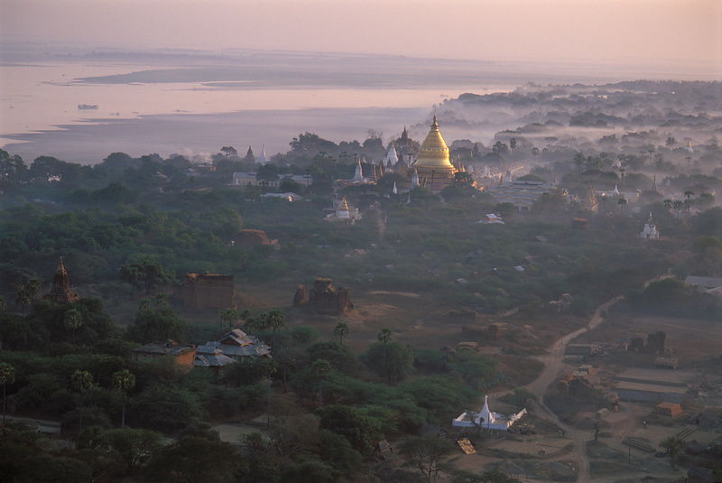 River and Shwezigon
