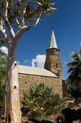 the old Rhenish Mission Church was built in 1895 and is now used as the town's museum, Keetmanshoop, Namibia