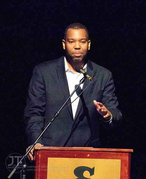 Gazette - Ta-Nehisi Coates, Englert Theatre, February 25, 2015