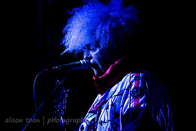 Buzz Osborne, vocals and guitar, Melvins