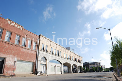 Dallas Stock Photos: Old KLIF / Dallas Observer / Magnolia Oil building in downtown Dallas