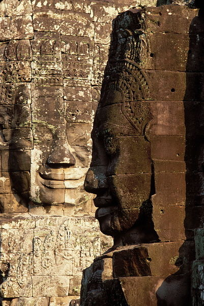 11177.06 Face towers, Bayon