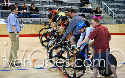 Master A Men Keirin Final, Ontario Track Championships Day 3, April 12, 2015