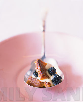 Spoonful of Blackberry Polenta