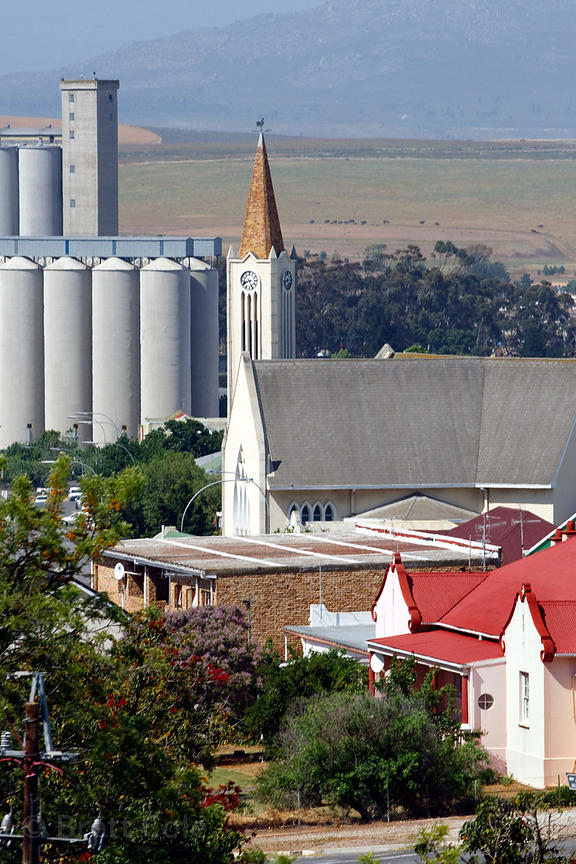 Bucolic country town scene near Swellendam, South Africa