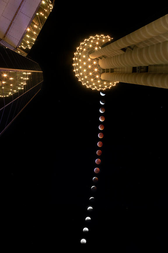Reunion Tower Eclipse