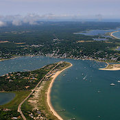 Chappaquiddick Island And Edgartown Harbor, Martha's Vineyard