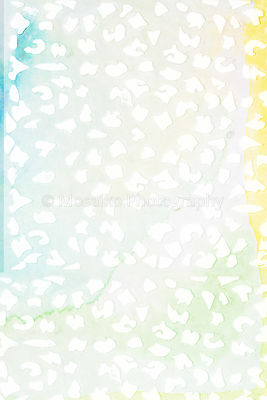 white prints on bright watercolors - abstract background
