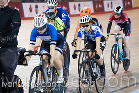 Junior Women Keirin Final. Canadian Track Championships (U17/Junior), April 3, 2016