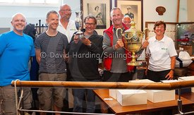 Prize-giving at Weymouth Regatta 2018, 20180909031.