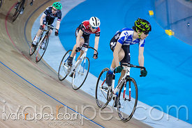 U17 Men Scratch Race. 2016/2017 Track O-Cup #3/Eastern Track Challenge, Mattamy National Cycling Centre, Milton, On, February 12, 2017