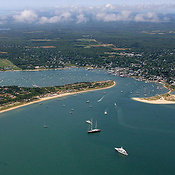 Chappaquiddick Point And Edgartown Harbor, Martha's Vineyard