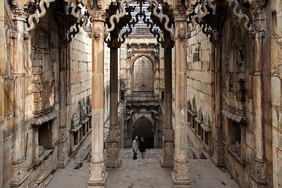 Magnificent step well in Bundi, Rajasthan, India