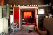 Kitchen, The Owl House, Nieu Bethesda, Eastern Cape, South Africa