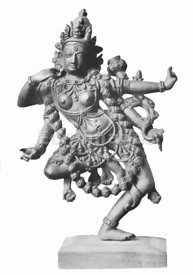 Statue of Hindu goddess Kali