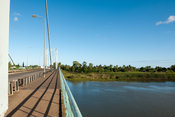 Bridge over the Limpopo river, Xai-Xai, Mozambique