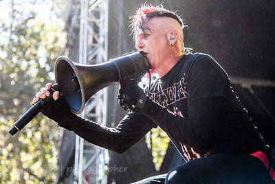 Chad Gray of HELLYEAH, Aftershock 2014