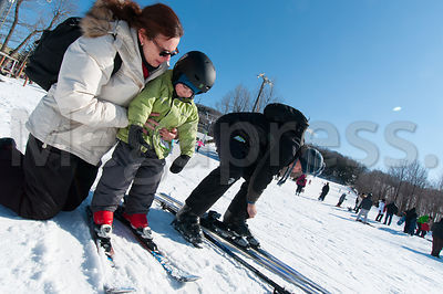 Ski Saint Bruno on the South-Shore of Montreal. This mountain center has the biggest Ski school in Canada with 33 000 student...