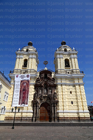 San Francisco church, Lima, Peru