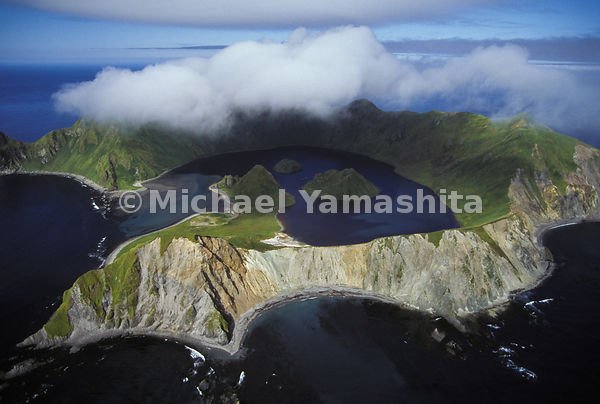 A laboratory for hardy scientists, the crater bay on uninhabited Yankicha teems with marine life, the product of an unusual e...