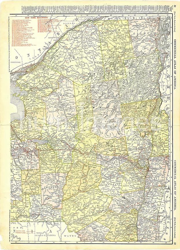 1913 Northern and Eastern New York