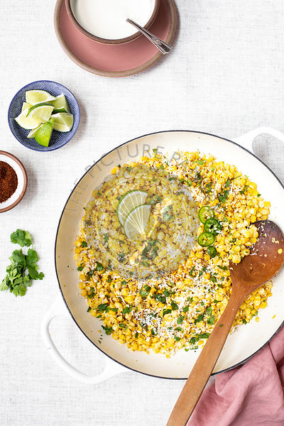 Skillet Mexican Corn
