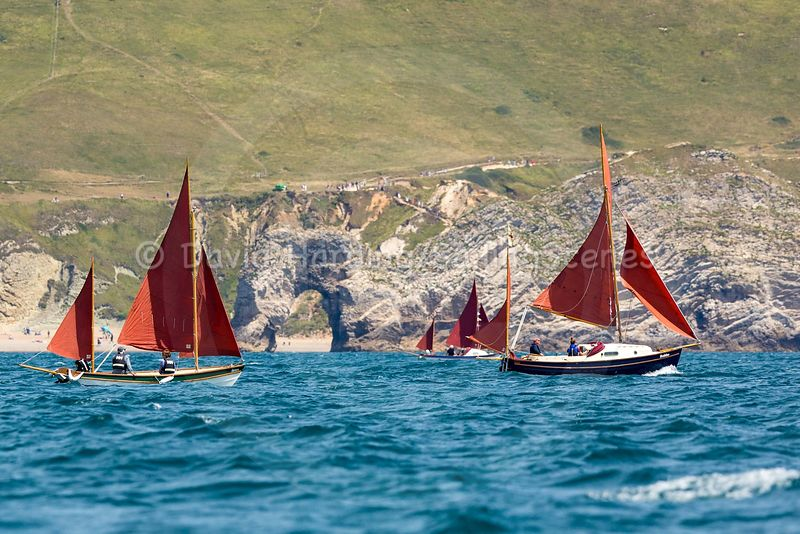 Drascombe Golden Jubilee rally in Weymouth photos