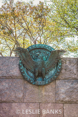 Presidential Seal at FDR Memorial