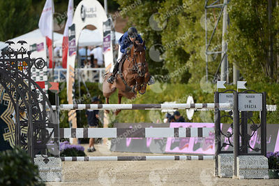 Janika SPRUNGER ,(SUI), ARIS CMS during Longines Cup of the City of Barcelona competition at CSIO5* Barcelona at Real Club de...