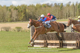 LEVEN, SCOTLAND - APRIL 28, 2018: The Turcan Connell Fife Foxhounds and NAPP Conditions Race.