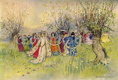 Fairest Company of Ladies by Warwick Goble