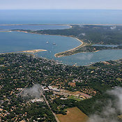 Edgartown Harbor And Chappaquiddick Island, Martha's Vineyard
