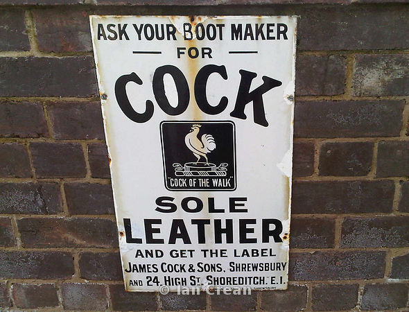 Cock Sole Leather