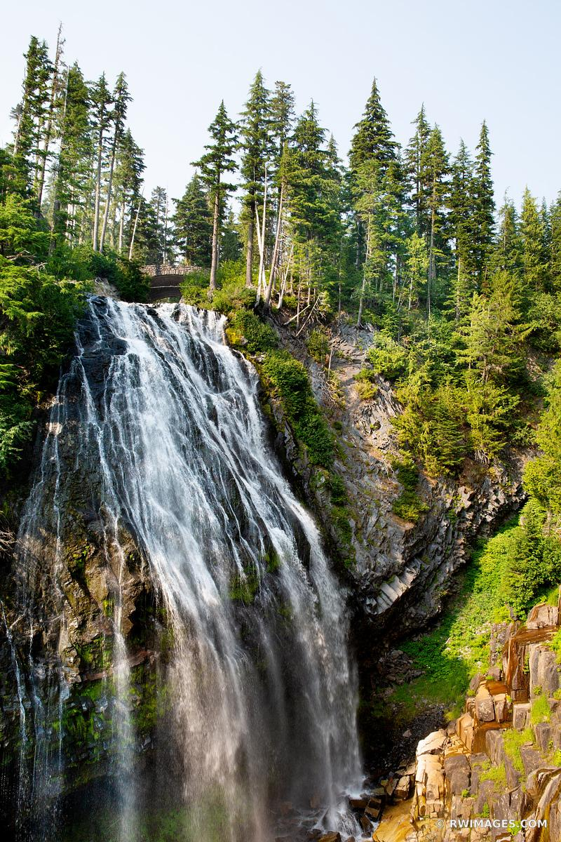 NARADA FALLS MOUNT RAINIER NATIONAL PARK WASHINGTON VERTICAL