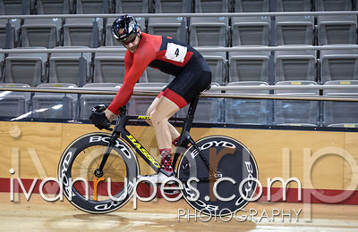 Men Sprint 1/2 Final. Ontario Track Provincial Championships, March 5, 2016
