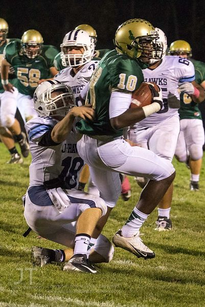 Iowa City West vs Cedar Rapids Jefferson, Prep Football, October 12, 2012