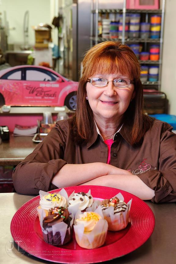 Gazette - Debbie Wright, The Wright Touch Cupcakery and Bake Shoppe