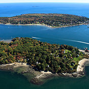 Little Diamond Island, Peaks Island.  Casco Bay, Portland