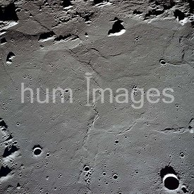 18-26 May 1969 - Apollo 10 photo of the lunar nearside looking westward across Apollo Landing Site 3 in Central Bay.