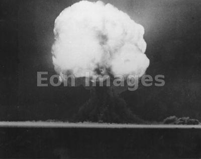 Fireball from atomic device Trinity in 1945