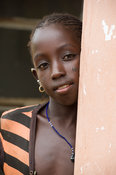 Fula girl, the Gambia