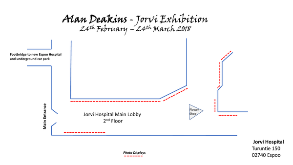 Alan Deakins - Jorvi Exhibition  24th February – 24th March 2018
