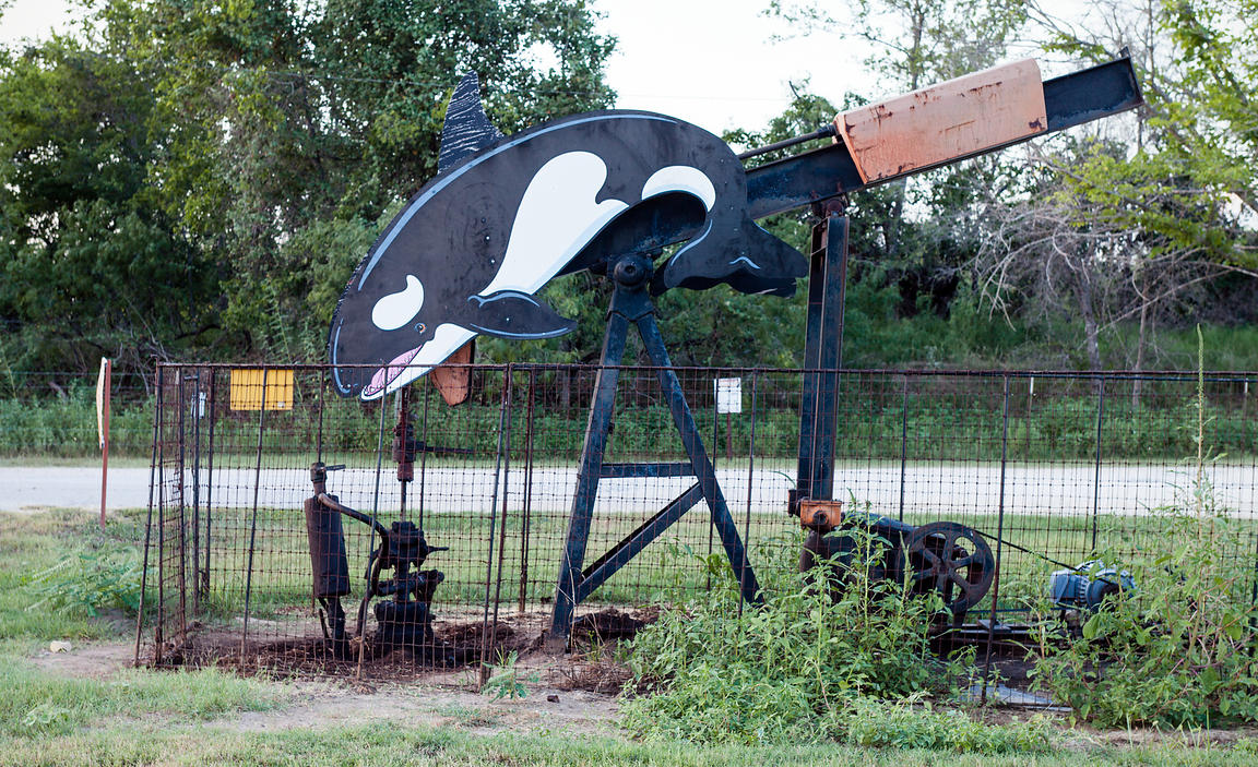 Pump Jack and Killer Whale
