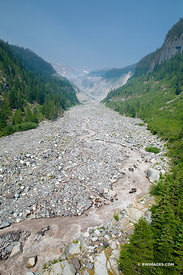 NISQUALLY RIVER MOUNT RAINIER NATIONAL PARK WASHINGTON VERTICAL